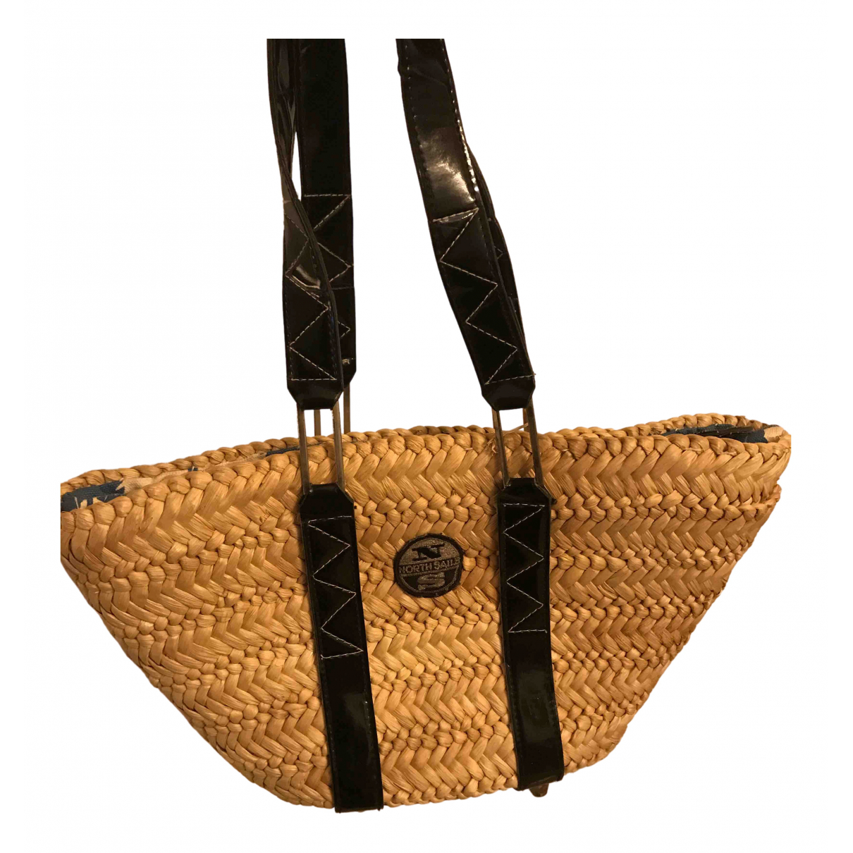 Non Signé / Unsigned N Wicker handbag for Women N