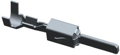TE Connectivity , Junior Power Timer Male Crimp Terminal Contact 2-964298-1 (50)
