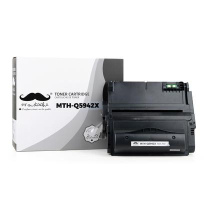 Compatible HP 42X Q5942X cartouche de toner noire haute capacité - Moustache®