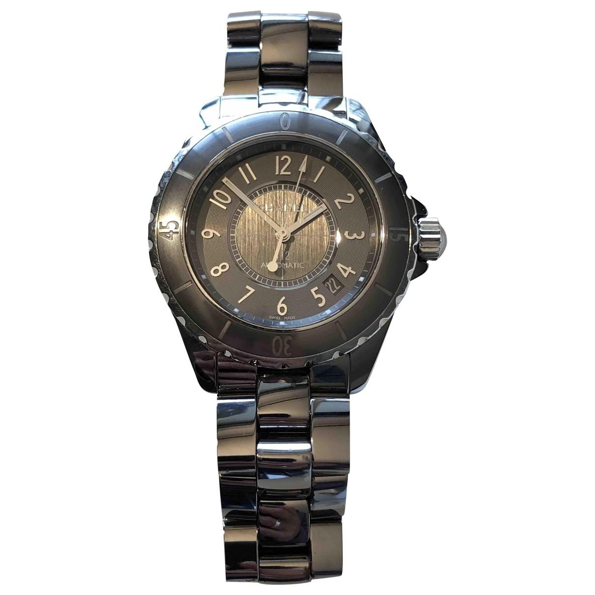 Chanel J12 Automatique Titanium watch for Women \N