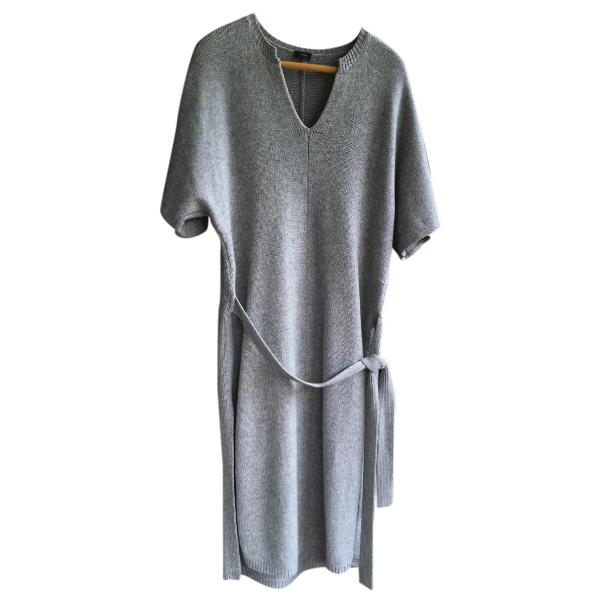 Joseph \N Kleid in  Grau Kaschmir