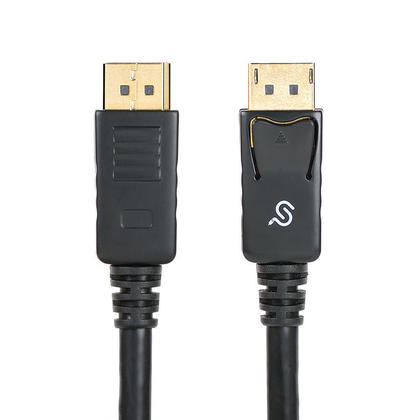 PrimeCables® 10ft Premium 28AWG DisplayPort 1.2 Male to Male Cable -Support 4K@60Hz- Black