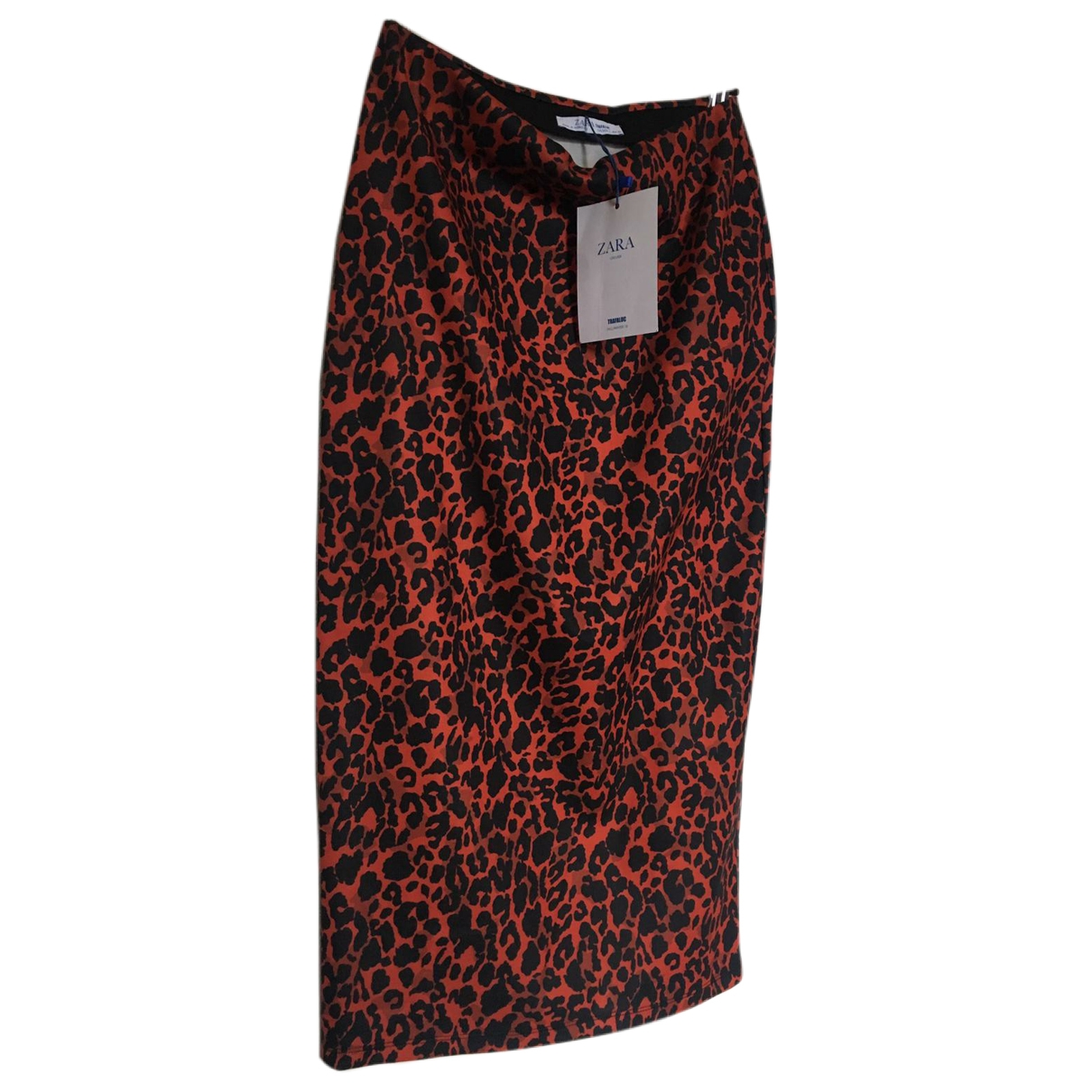Zara \N Rocke in  Rot Polyester