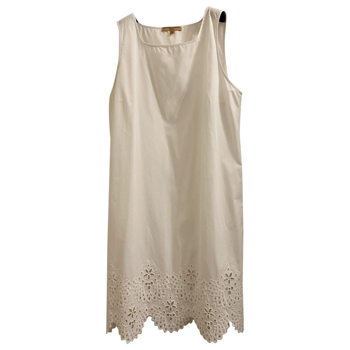 Ermanno Scervino - Robe   pour femme en coton - blanc