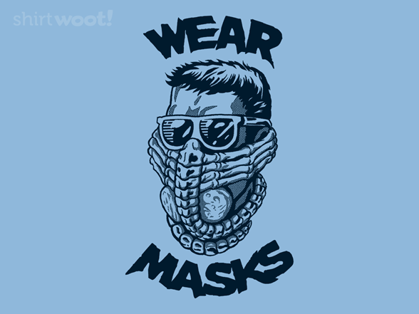 Wear Masks T Shirt