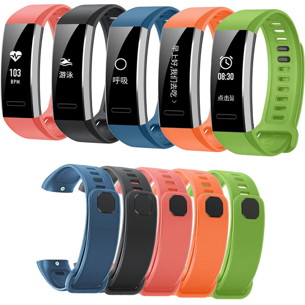 Bakeey Replacement Silicone Watch Band for Smart Watch Band Huawei Band 2/Pro