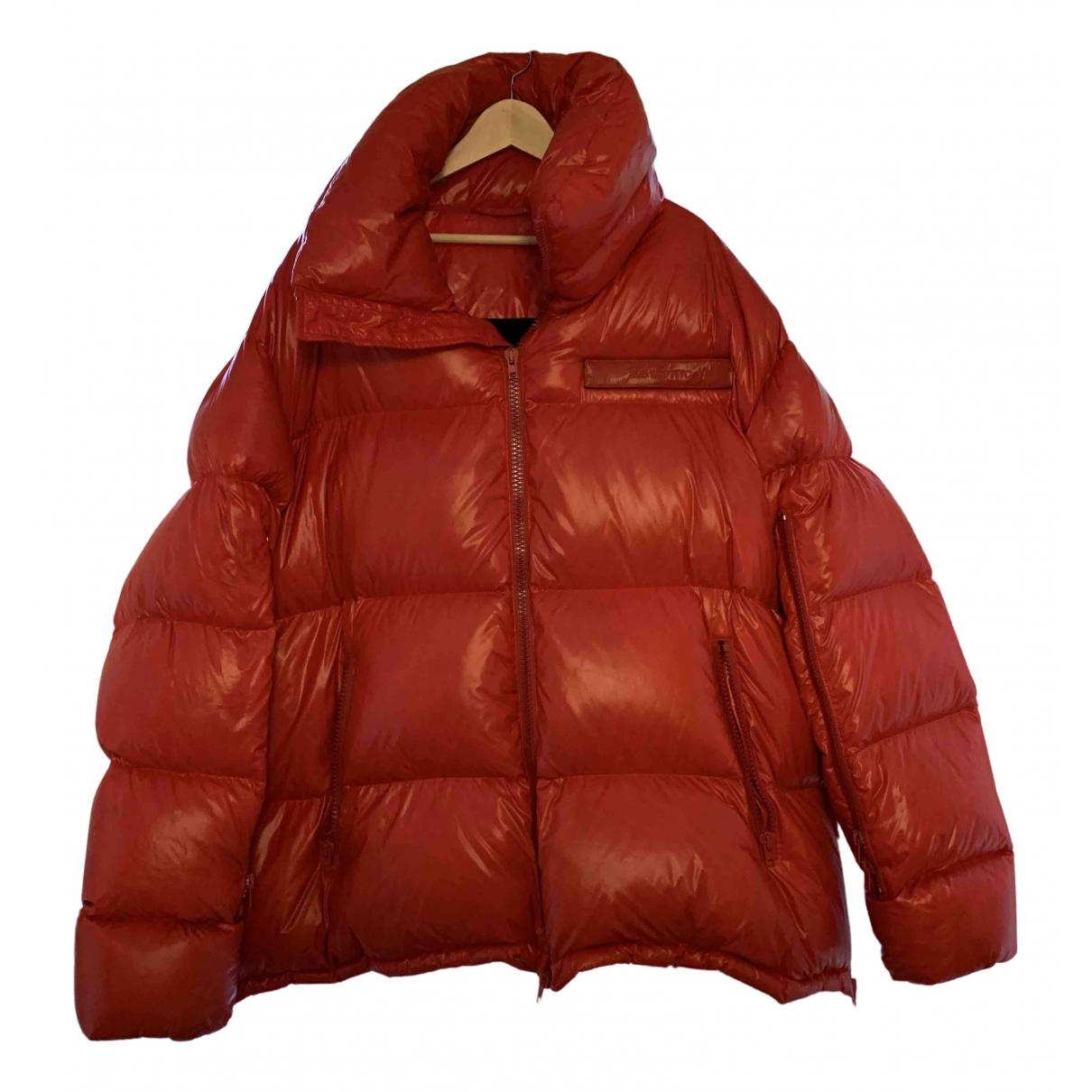 Calvin Klein 205w39nyc N Red coat  for Men 54 IT
