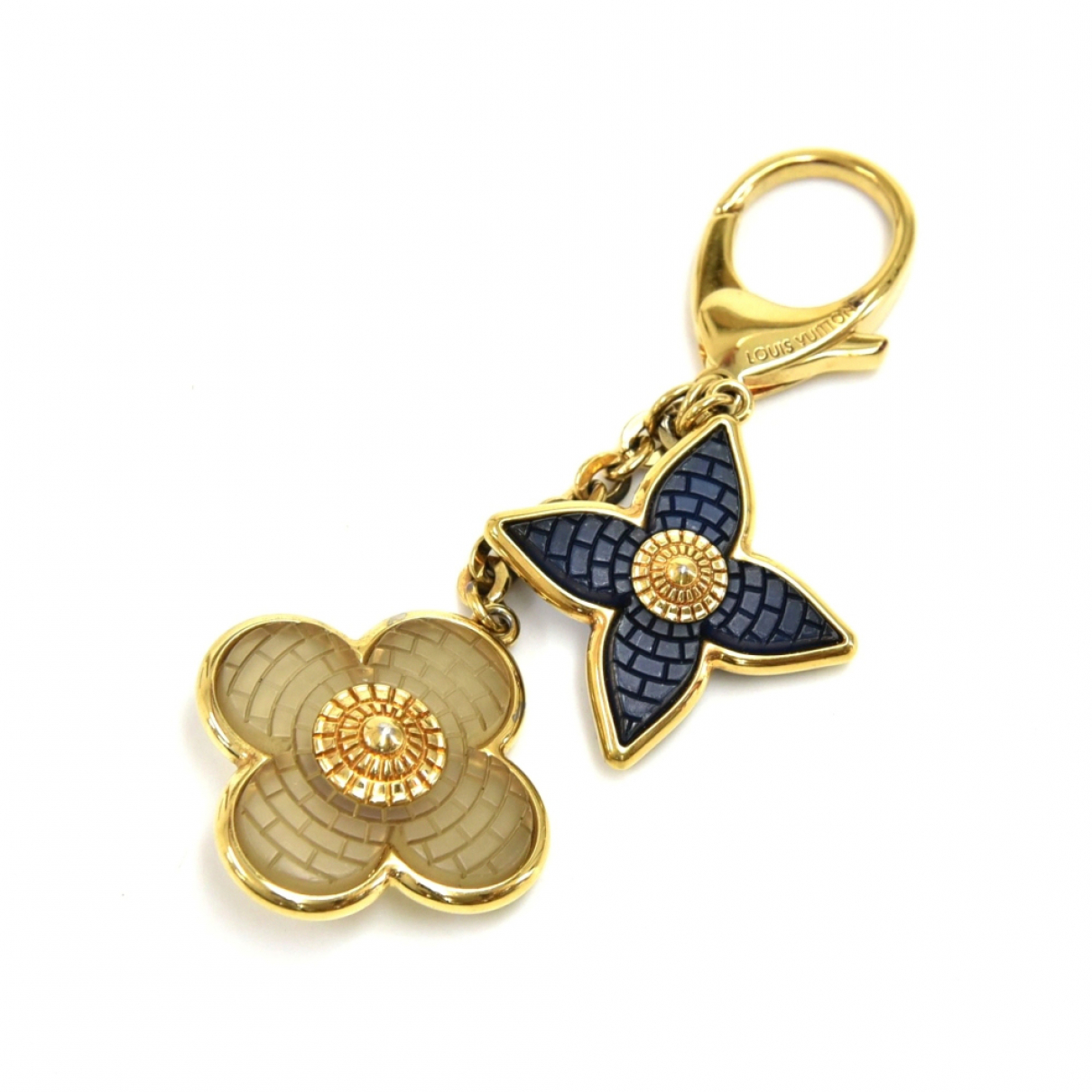 Louis Vuitton N Gold Metal Bag charms for Women N