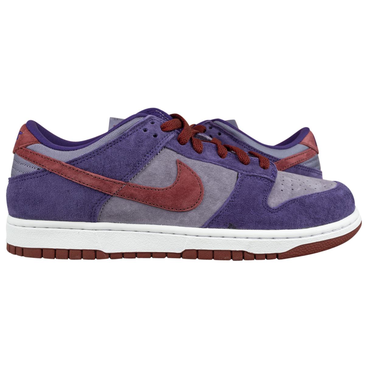 Nike - Baskets SB Dunk  pour homme en suede - violet