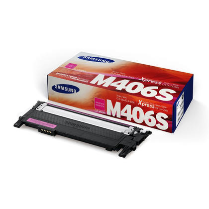 Samsung CLT-M406S Original Magenta Toner Cartridge