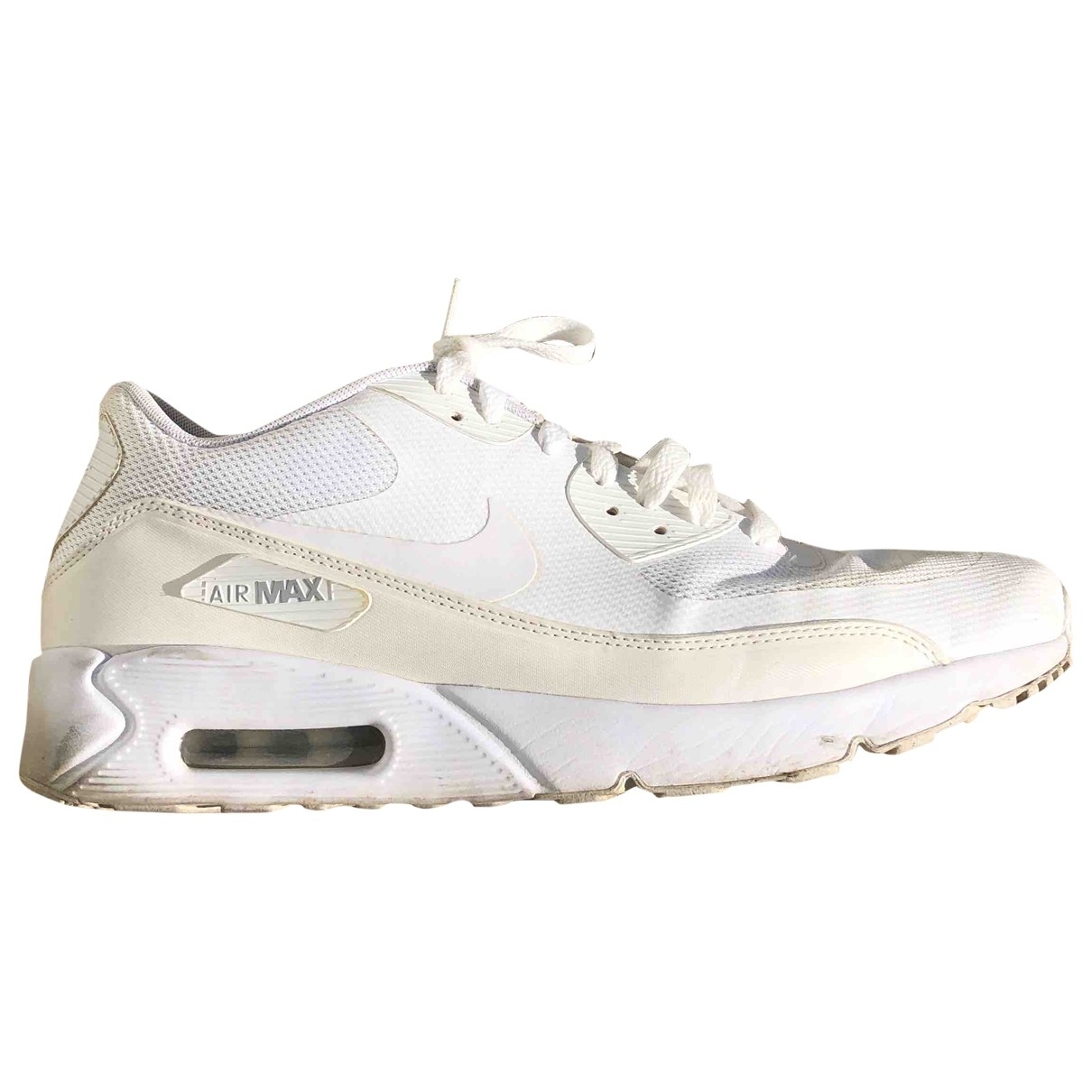 Nike Air Max 90 Sneakers in  Weiss Polyester