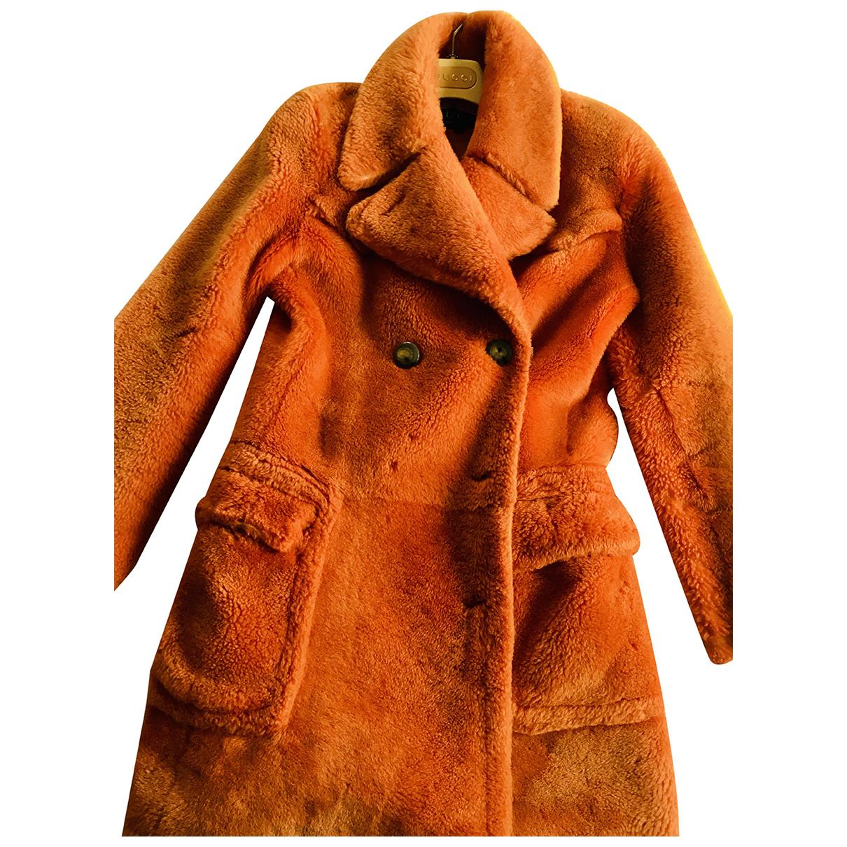 Gucci \N Orange Shearling jacket for Women 42 IT