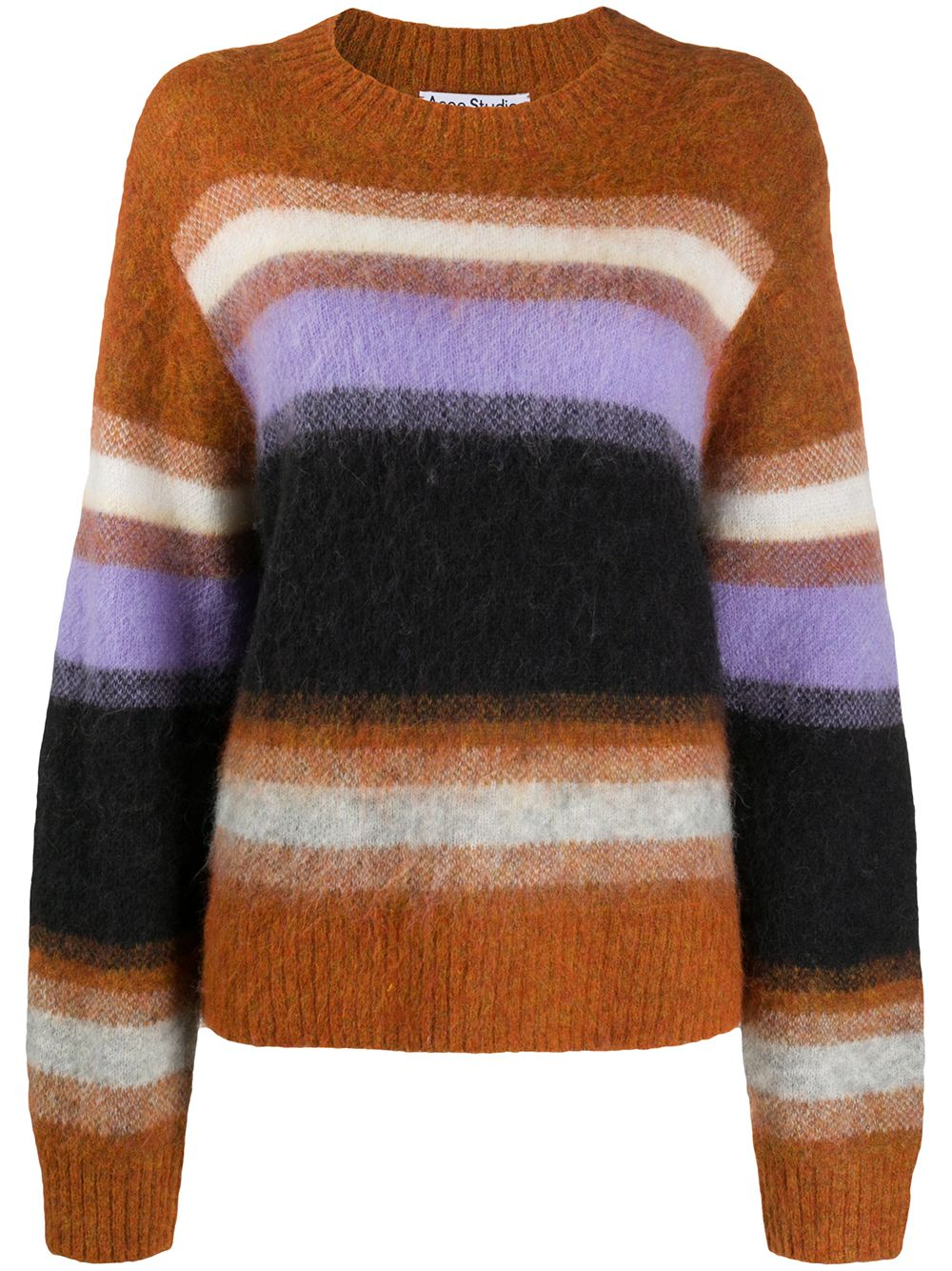 Wool Blend Crewneck Sweater