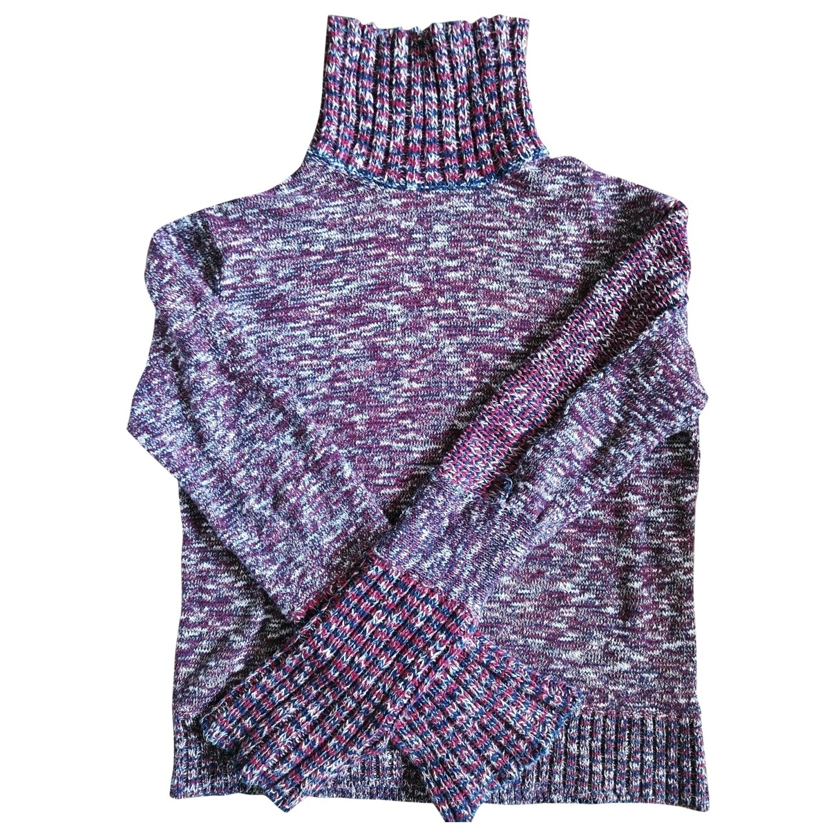 Celine \N Red Cotton Knitwear for Women L International