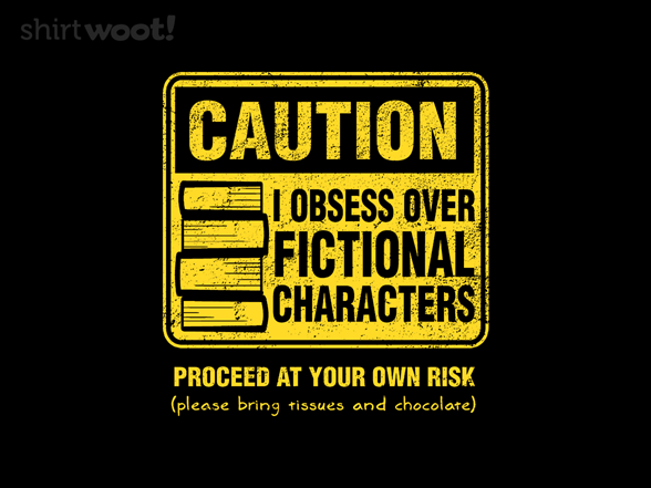 Character Caution T Shirt