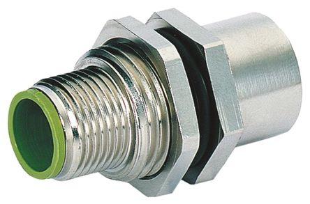 Murrelektronik Limited Murrelektronik Connector, 5 contacts Bulkhead Mount M12 Socket, Screw IP65, IP67