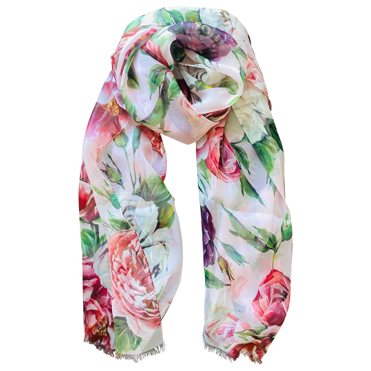 Dolce & Gabbana \N Multicolour Silk scarf for Women \N