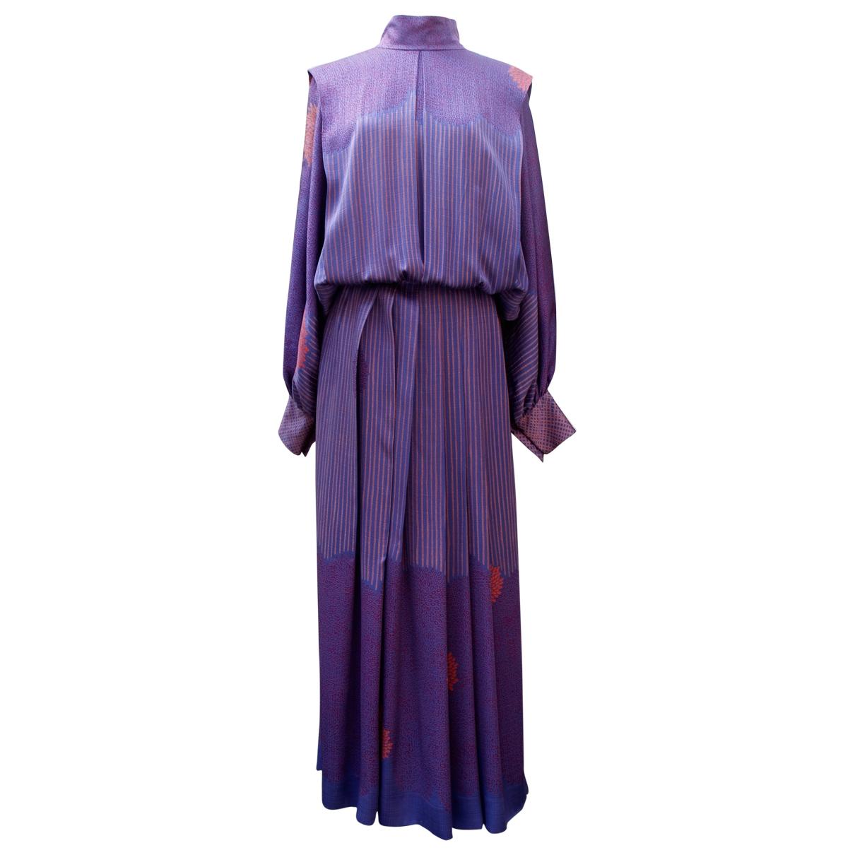 Louis Feraud - Robe   pour femme en soie - violet