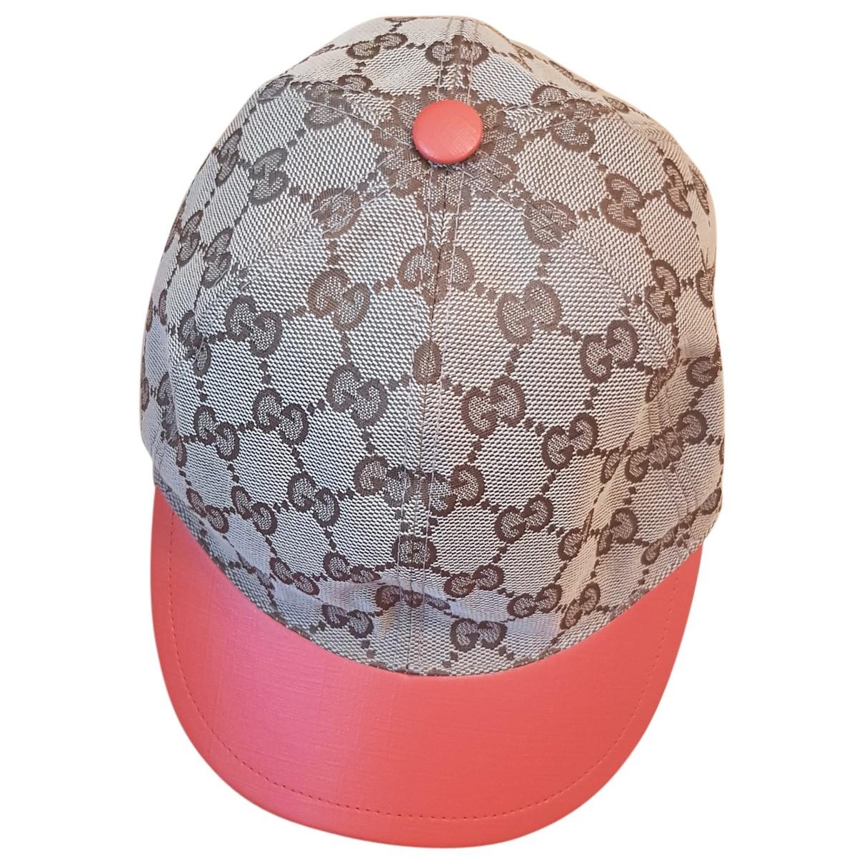 Gucci - Chapeaux.Bonnets.Gants   pour enfant en coton - orange