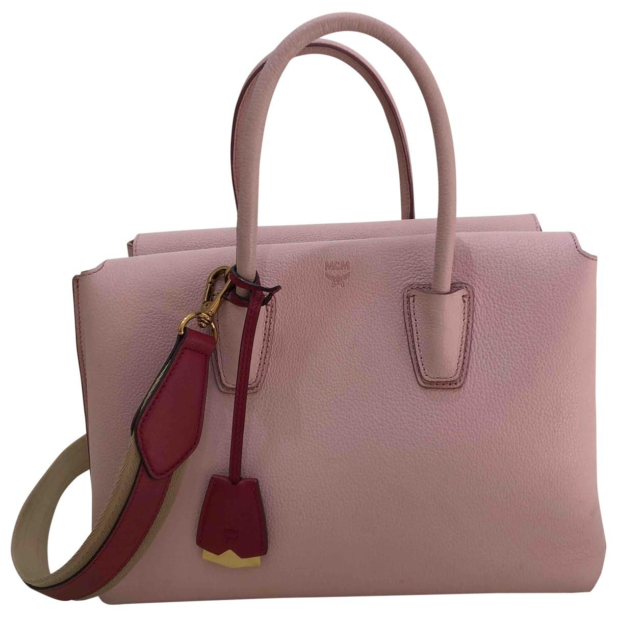 Mcm Milla Pink Leather handbag for Women \N