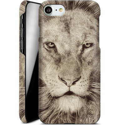 Apple iPhone 8 Smartphone Huelle - Leo Lion von Eric Fan