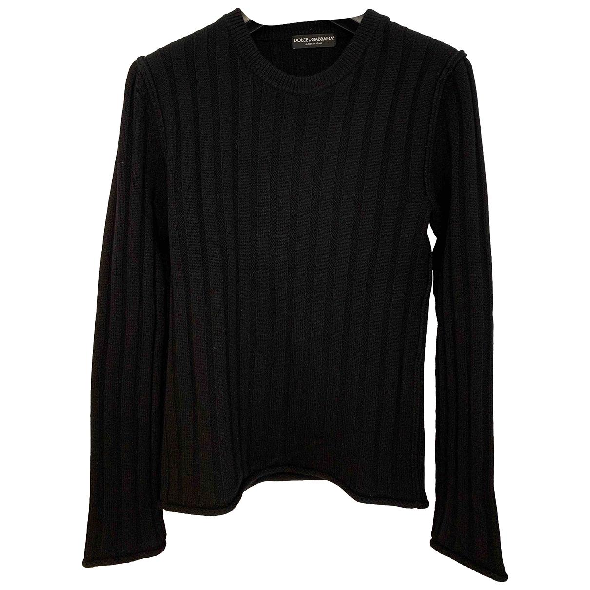 Dolce & Gabbana \N Pullover.Westen.Sweatshirts  in  Schwarz Kaschmir