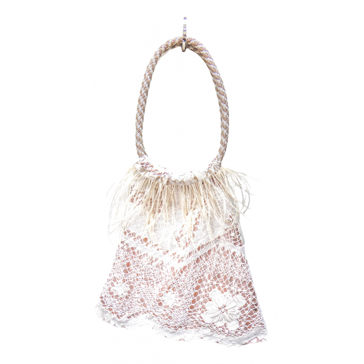 Non Signé / Unsigned N Pink Cloth handbag for Women N