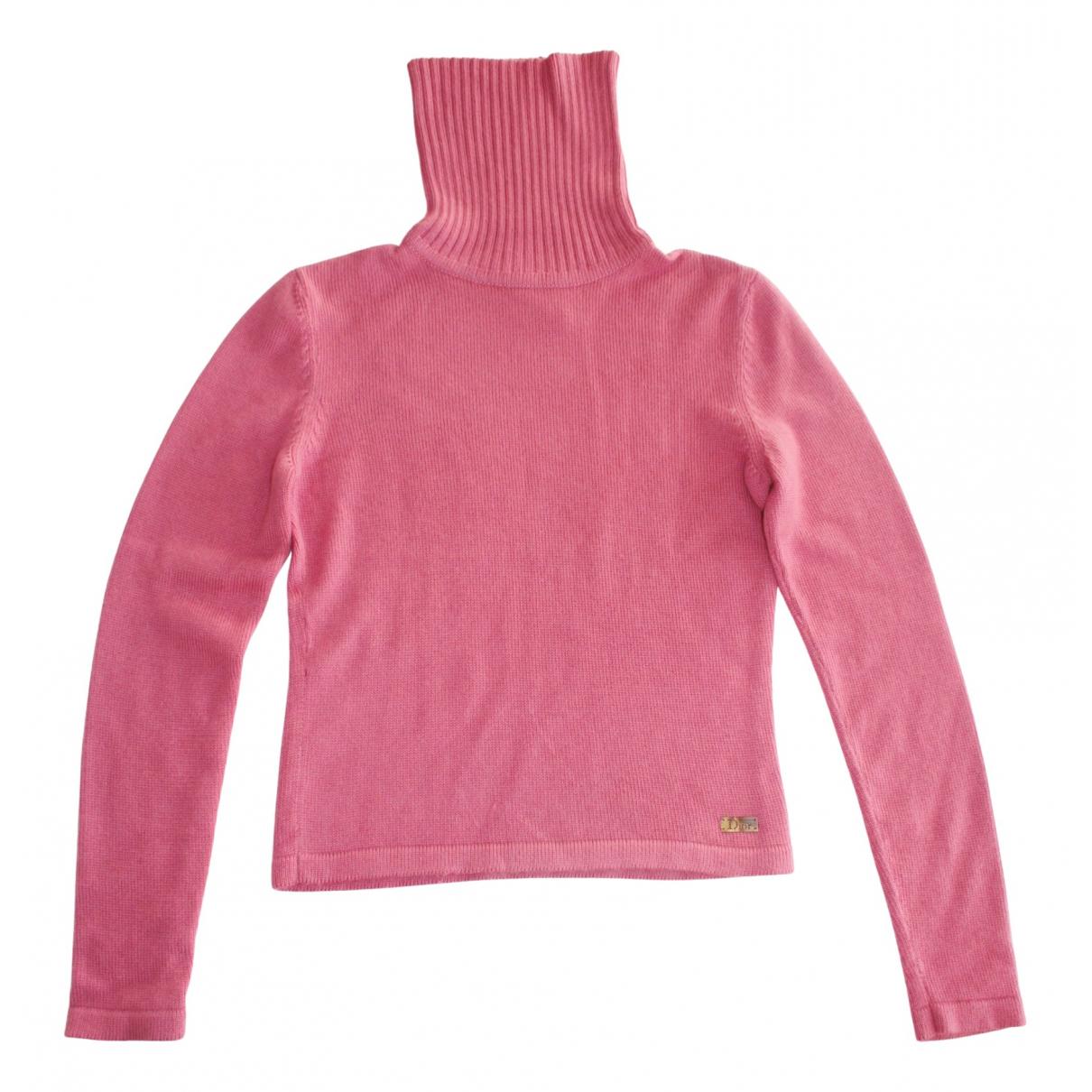Dior \N Pink Cashmere Knitwear for Women 40 FR