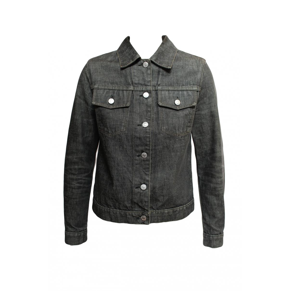 Helmut Lang \N Grey Denim - Jeans jacket for Women 38 IT