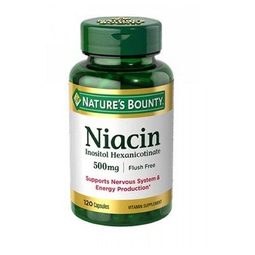 Niacin Flush Free 24 X 120 Caps by Nature's Bounty