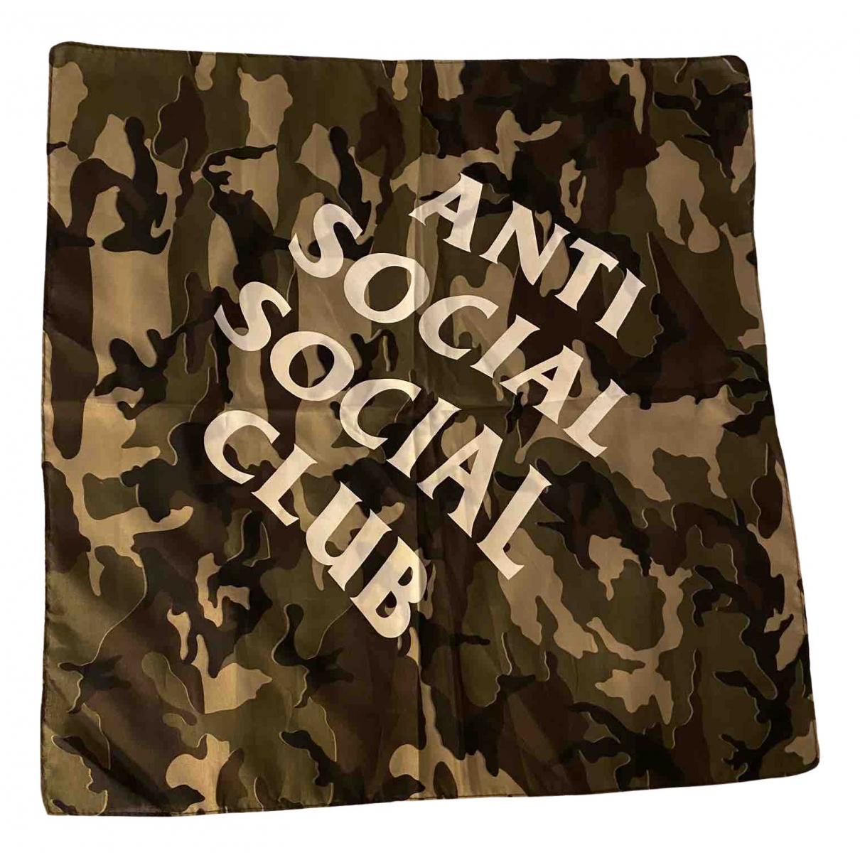 Anti Social Social Club - Foulard   pour femme - kaki
