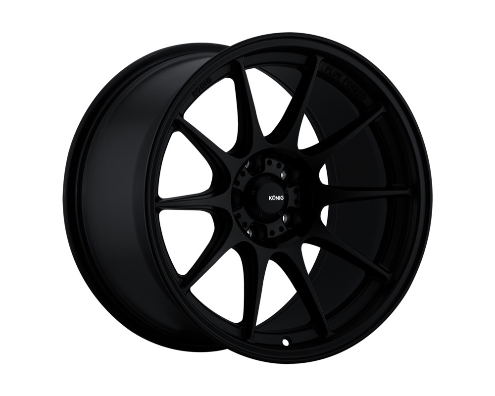 Konig Dekagram Semi-Matte Black Wheel 18x8.5 5x100 44
