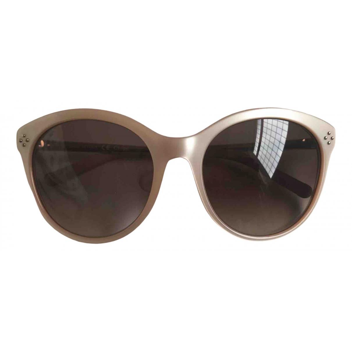 Chloé \N Beige Sunglasses for Women \N