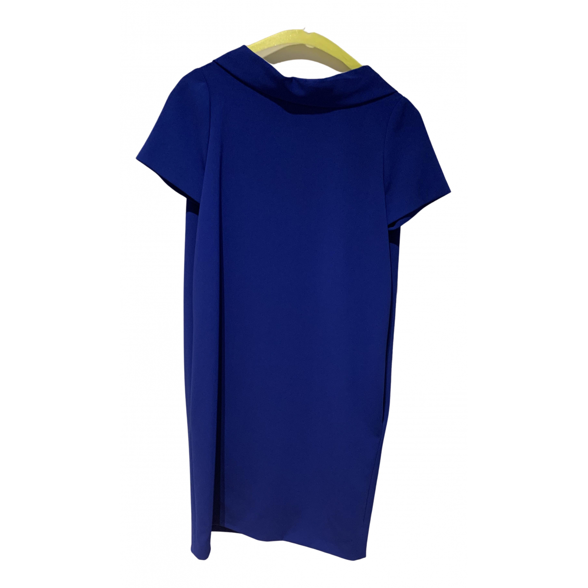 Moschino \N Kleid in  Blau Polyester