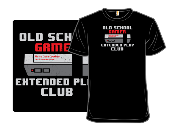 Old School Gamer T Shirt