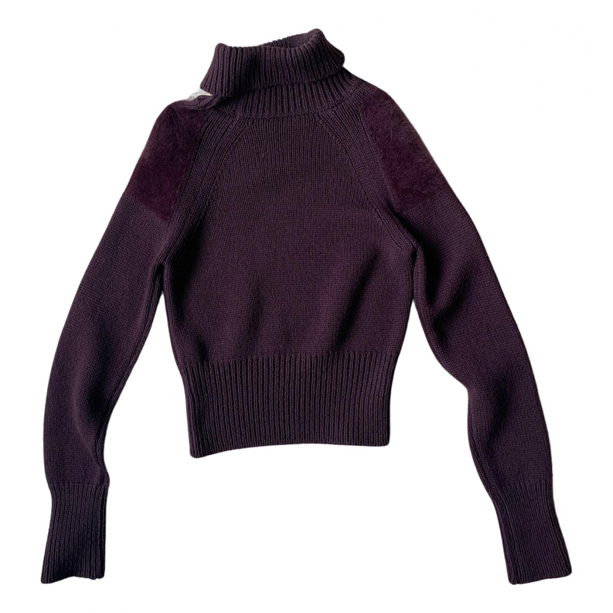 Bottega Veneta \N Burgundy Wool Knitwear for Women 40 IT