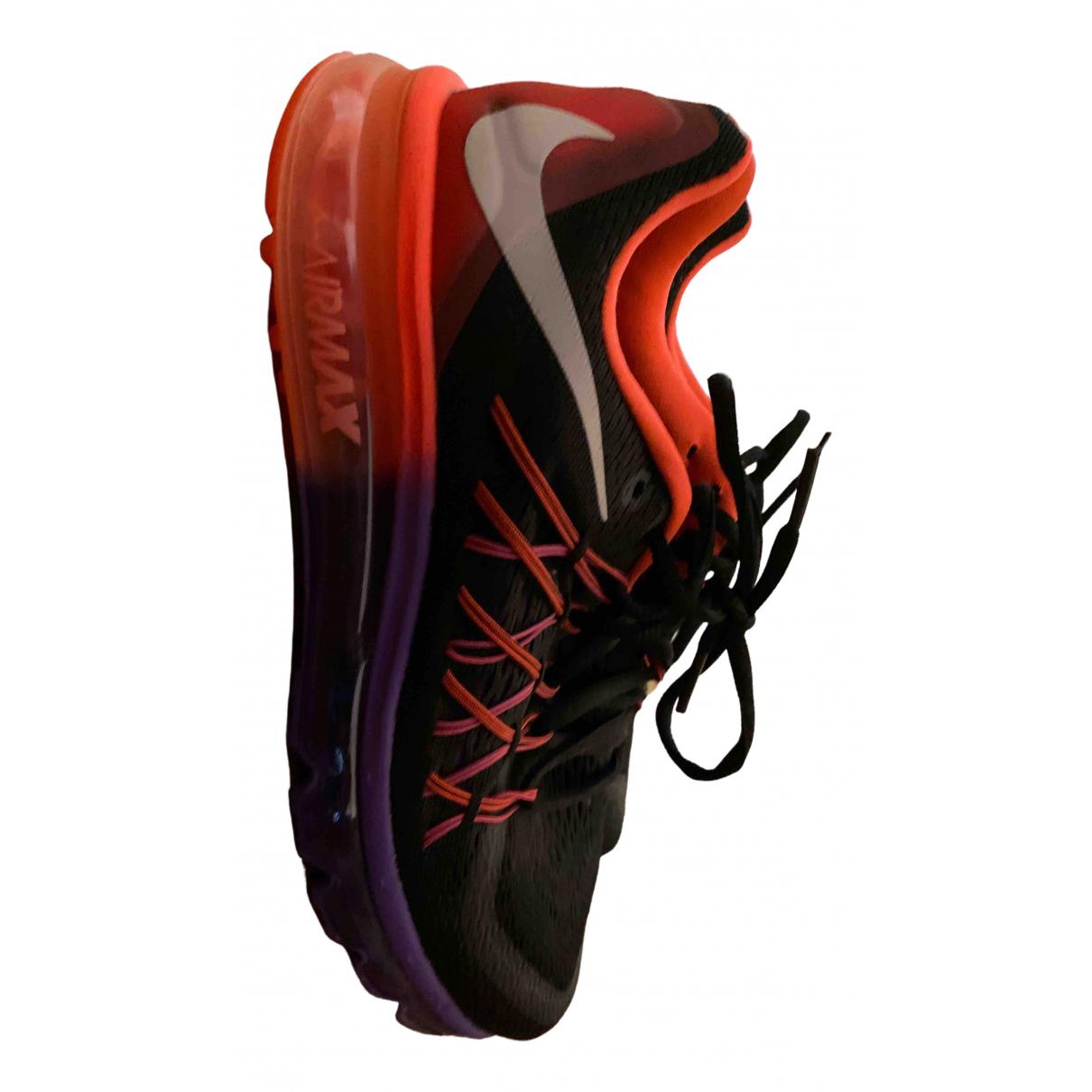 Nike - Baskets Air Max  pour femme en toile - multicolore