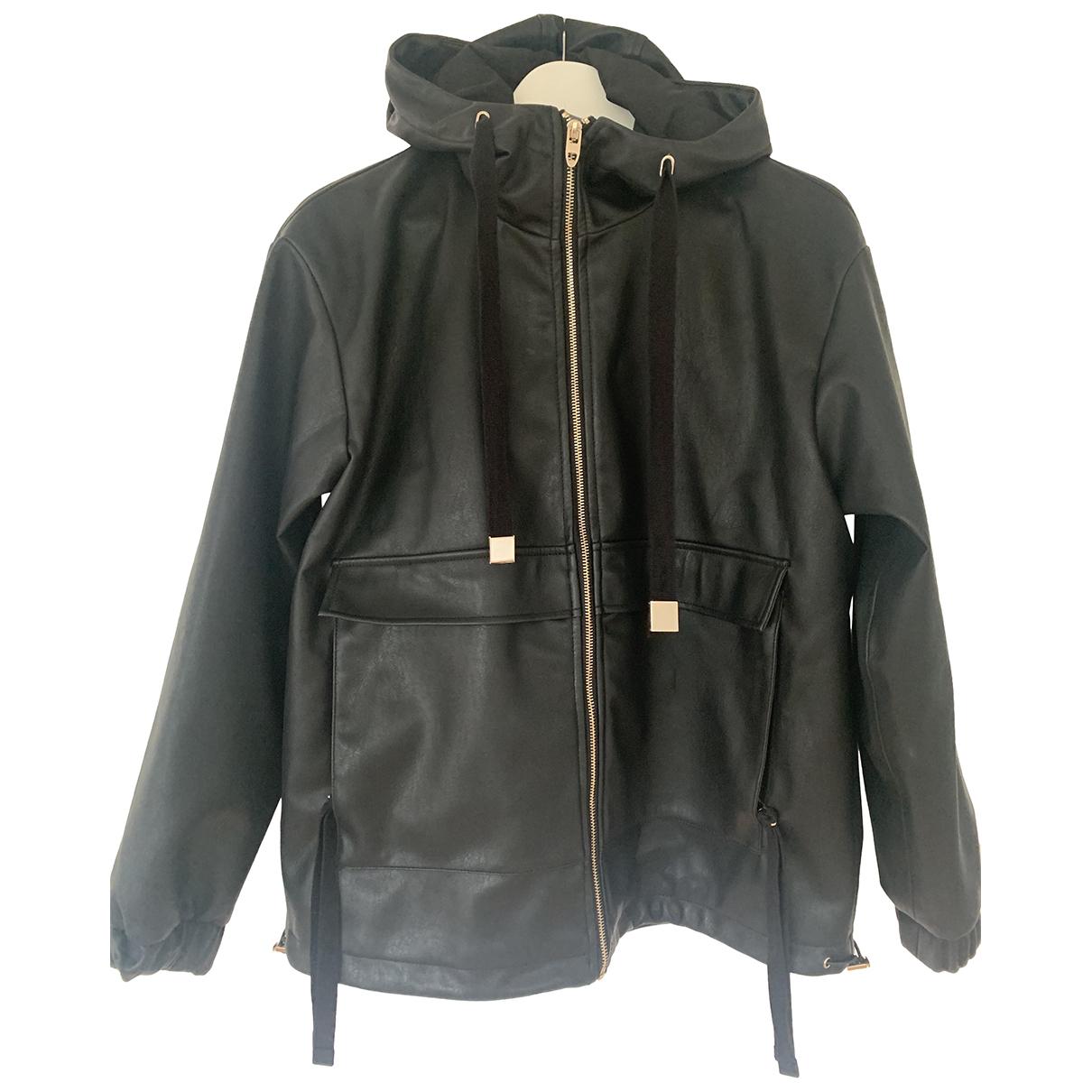 Zara N Black Leather jacket for Women S International