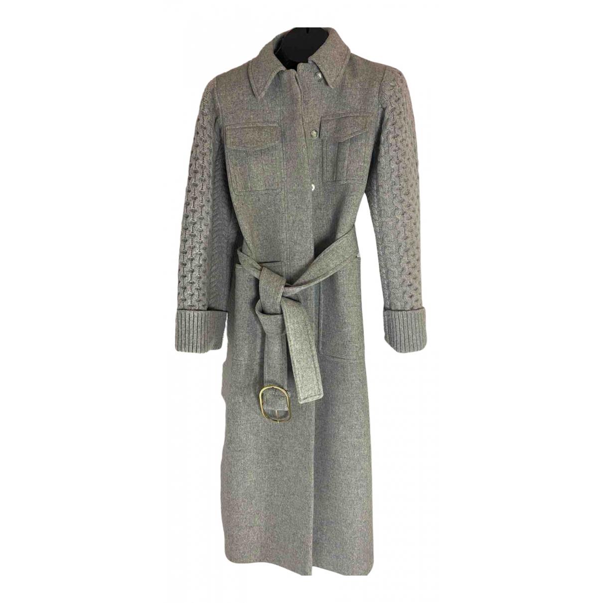 Stella Mccartney \N Grey Wool coat for Women S International