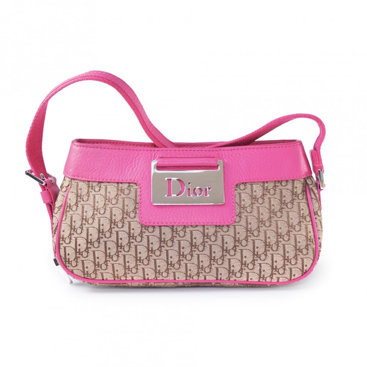 Dior Columbus Pink Cloth handbag for Women \N