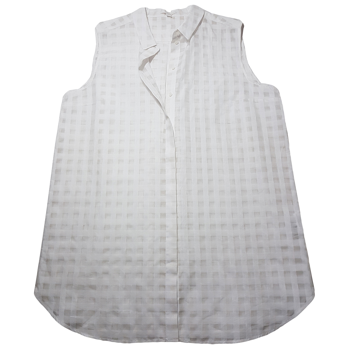 Cos N White Cotton  top for Women 44 FR