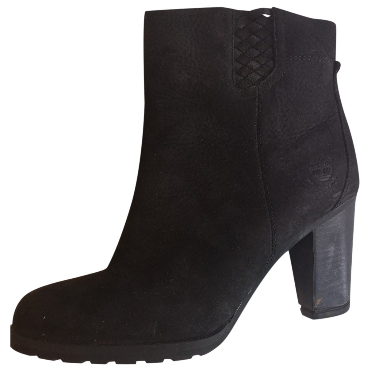 Timberland \N Black Leather Boots for Women 39.5 EU