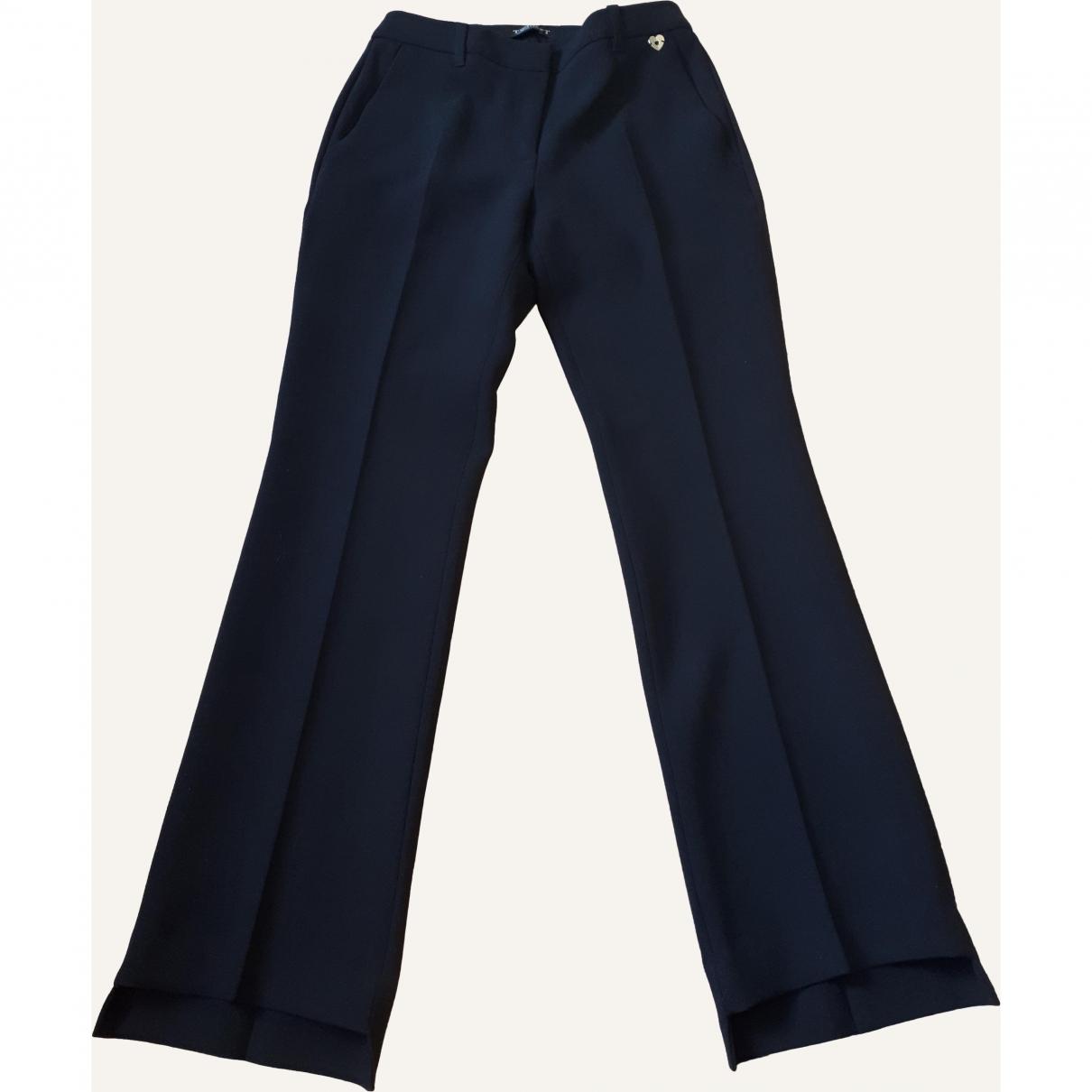 Twin Set \N Black Trousers for Women 40 IT