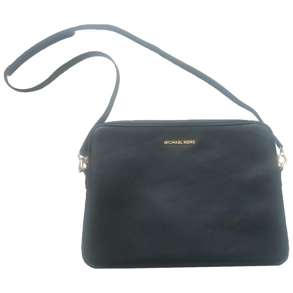 Michael Kors \N Handtasche in  Schwarz Leder