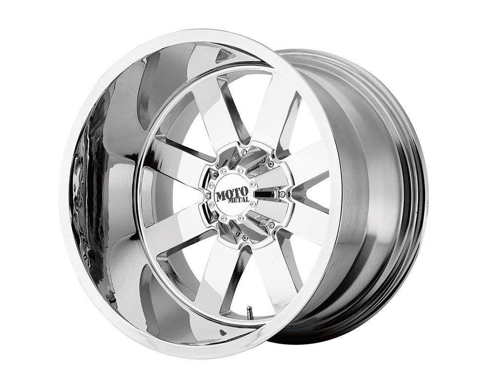 Moto Metal MO96281235244N MO962 Wheel 18x12 5x5x127/5x139.7 -44mm Chrome