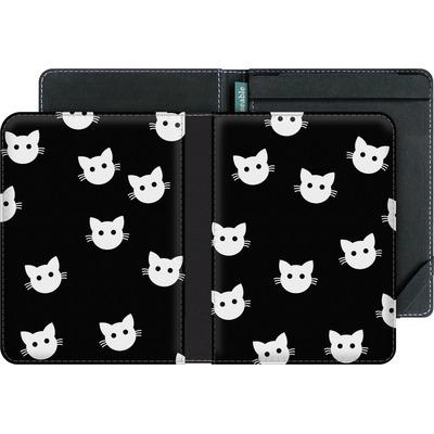 tolino vision 3 HD eBook Reader Huelle - Cat Pattern von caseable Designs