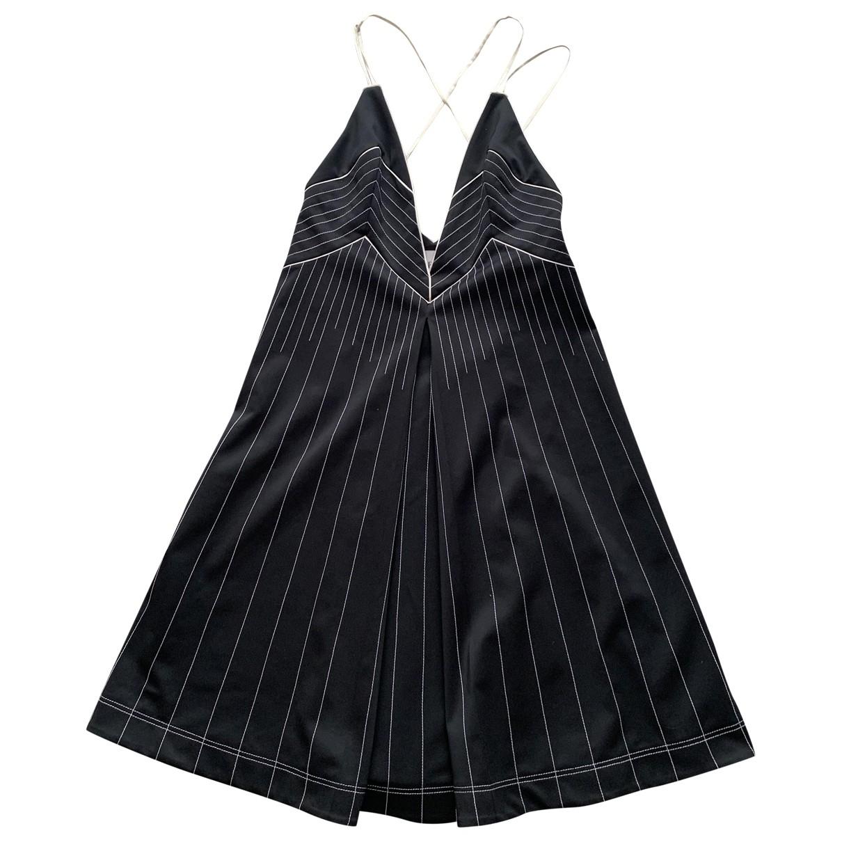 Valentino Garavani \N Kleid in  Schwarz Polyester