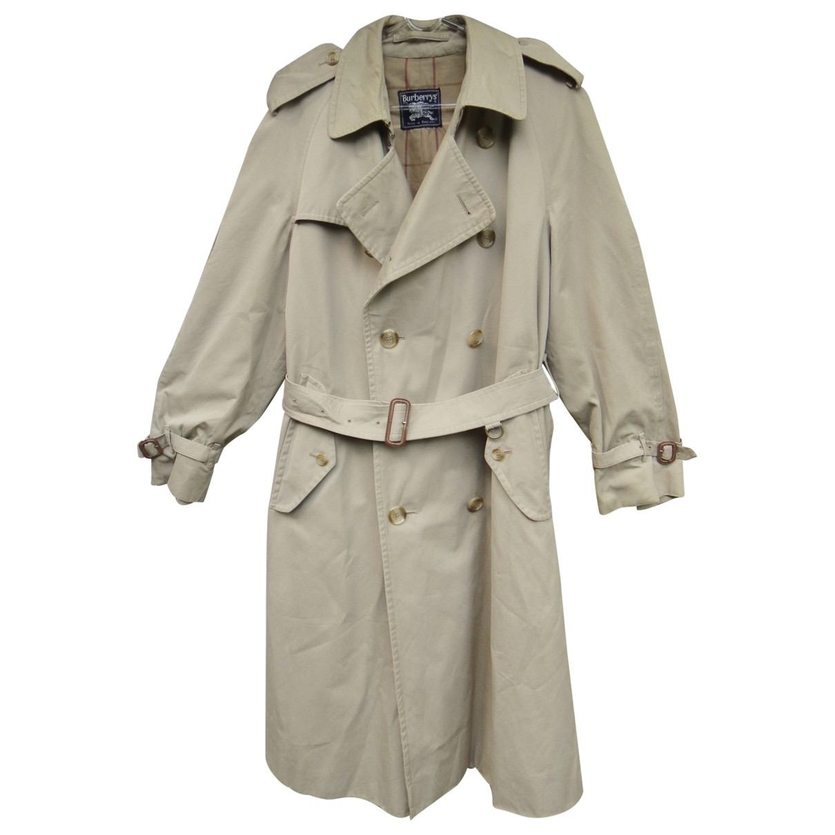 Burberry \N Khaki Cotton coat  for Men 52 FR