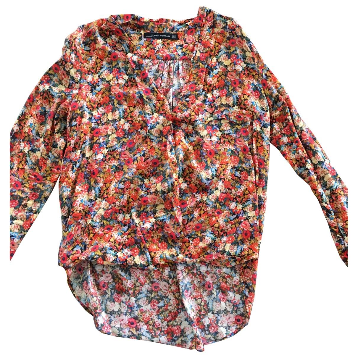 Zara \N Top in  Bunt Baumwolle