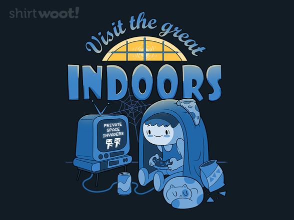 Visit The Great Indoors T Shirt